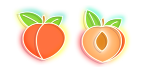 Orange Peach Neon